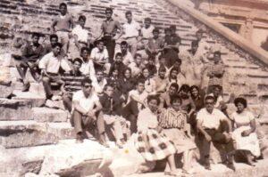 1961 Επίδαυρος με συμμαθητές α