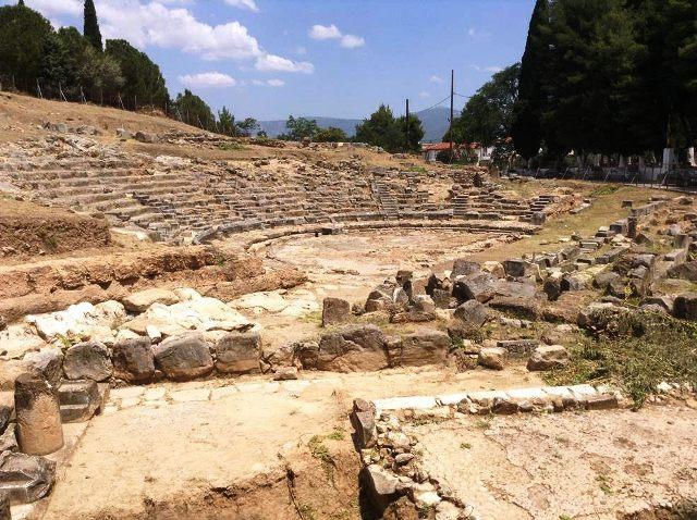 Αρχαιο Θεατρο Ορχομενού