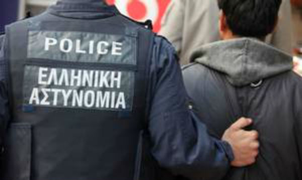 Συλληψη λαθρομετανάστες ΕΛ.ΑΣ 2