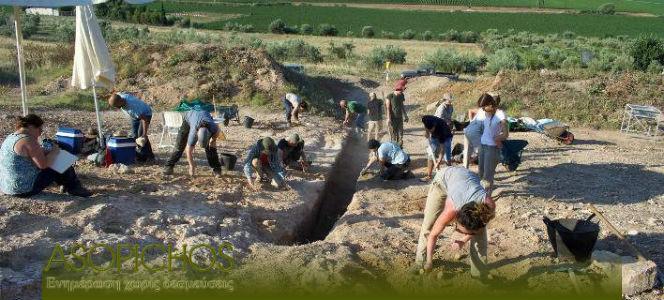 Προσήλιο τάφος ανασκαφές α